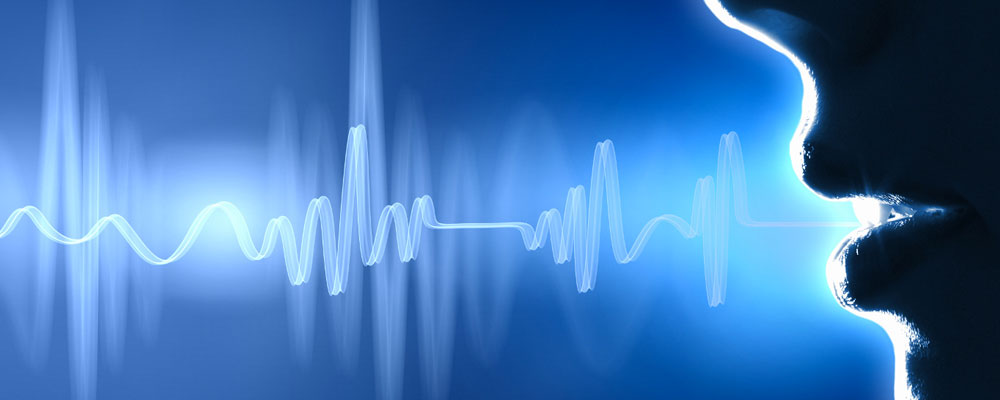 Sound waves and mouth